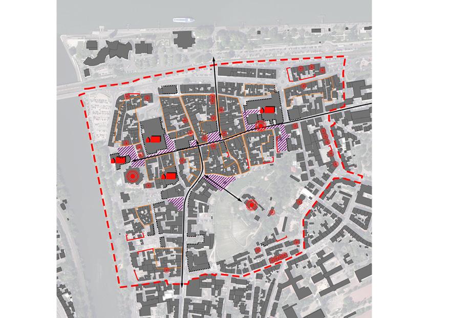Bingen Integriertes Städtebauliches Entwicklungskonzept ISEK Städtebau Stadtbild Baukultur Karte
