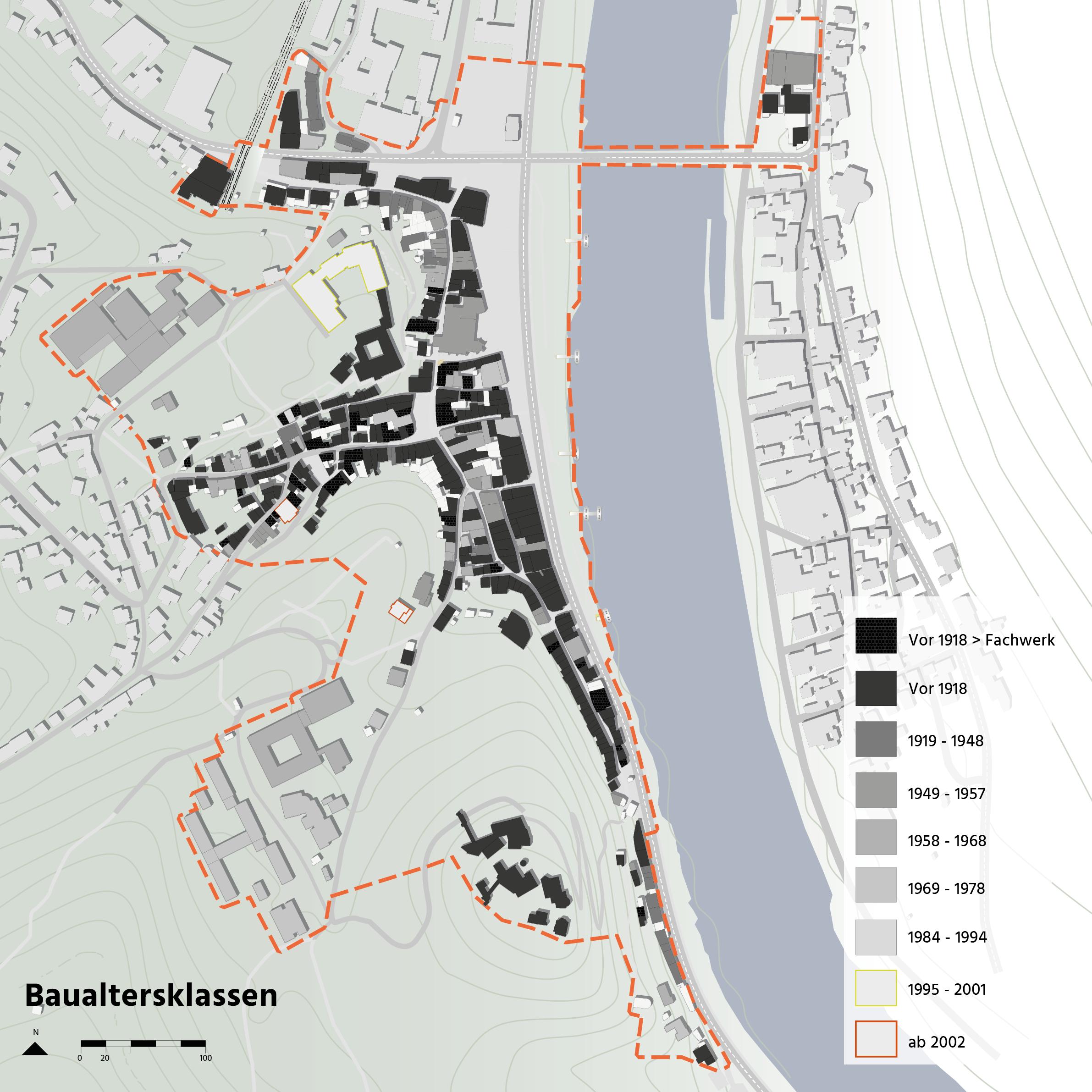 Cochem Integriertes Energetisches Quartierskonzept Energie Siedlungstypen Energiebedarf Stadtraumtypen Karte