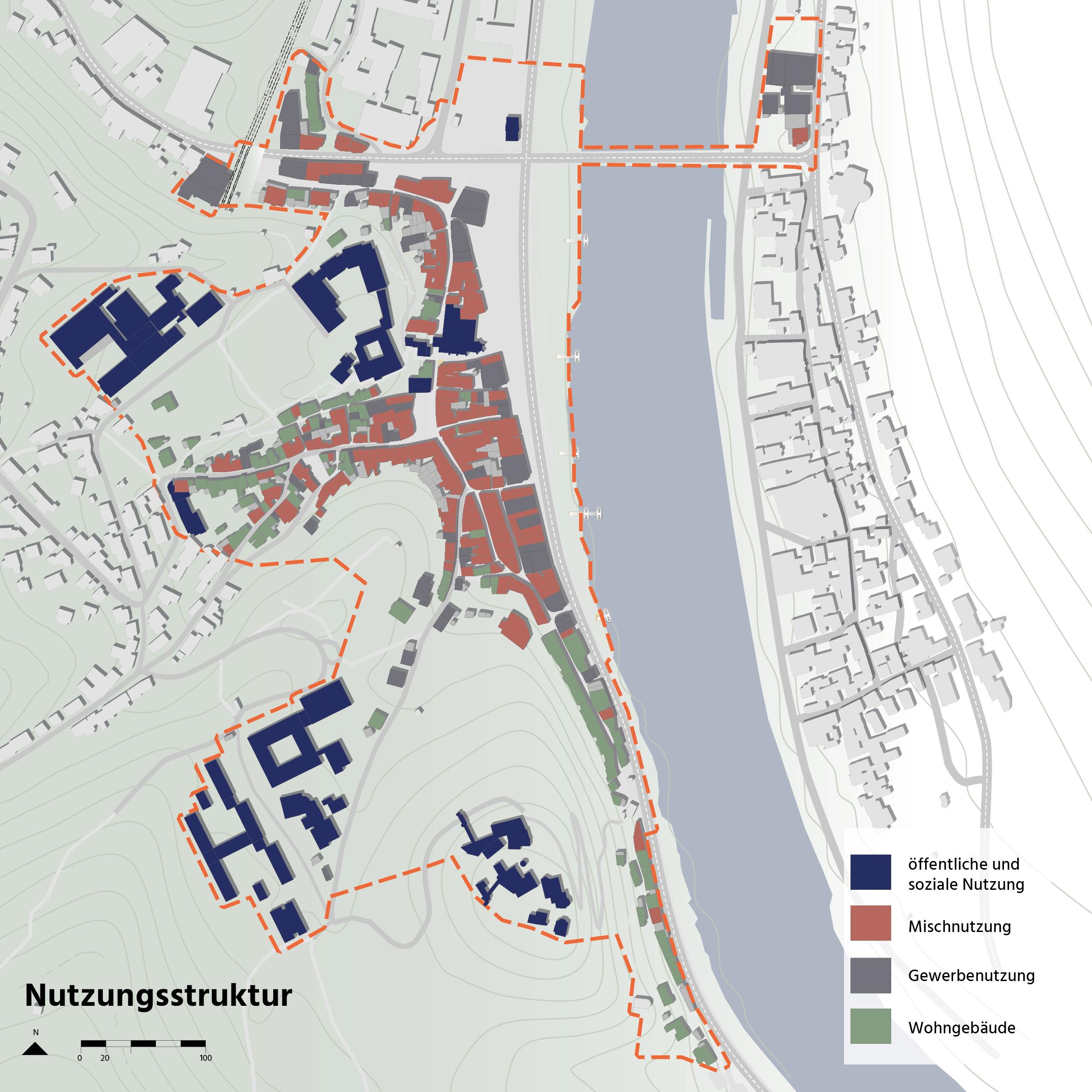 Cochem Integriertes Energetisches Quartierskonzept Nutzung Funktion Karte