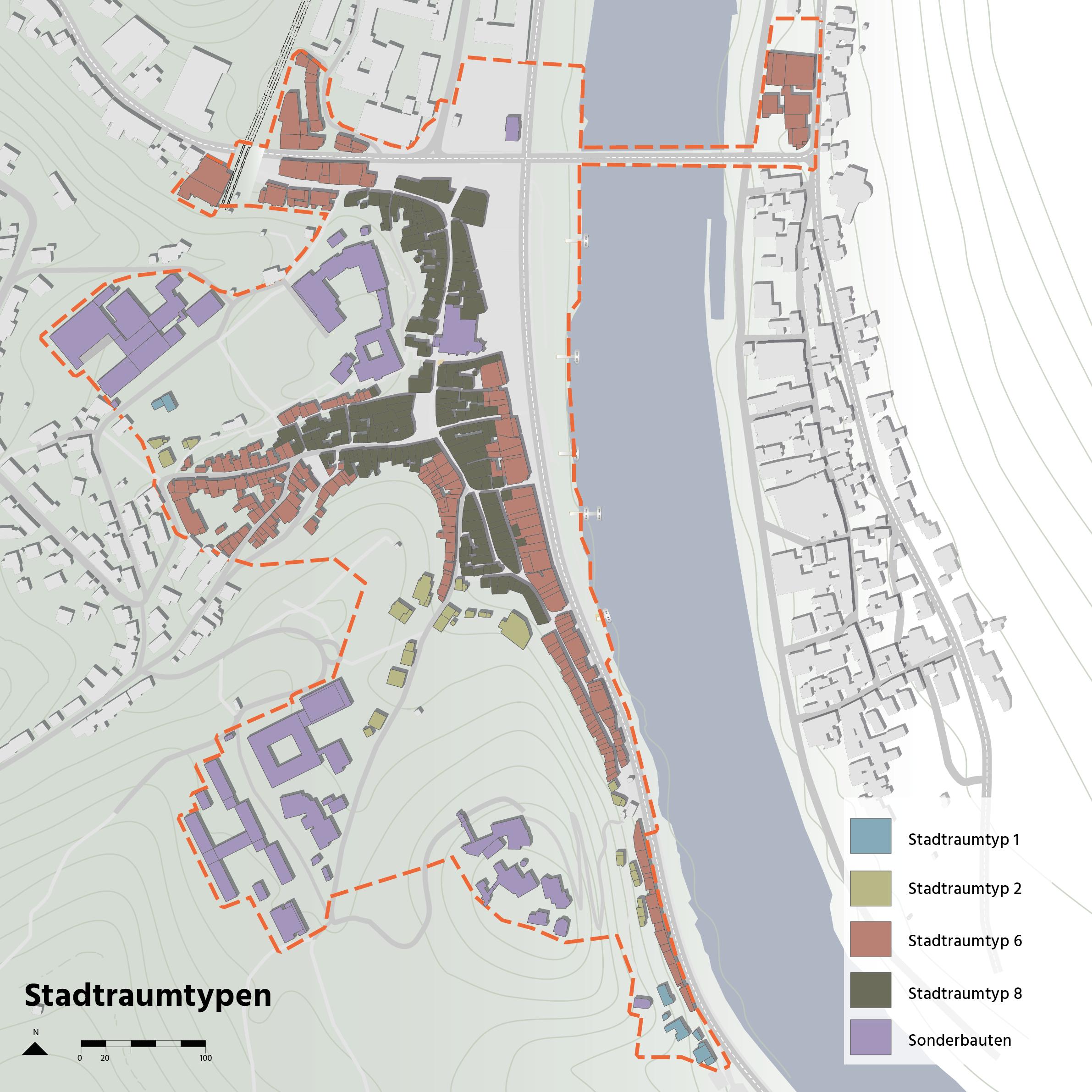 Cochem Integriertes Energetisches Quartierskonzept Stadtraum Stadtraumtypen Karte