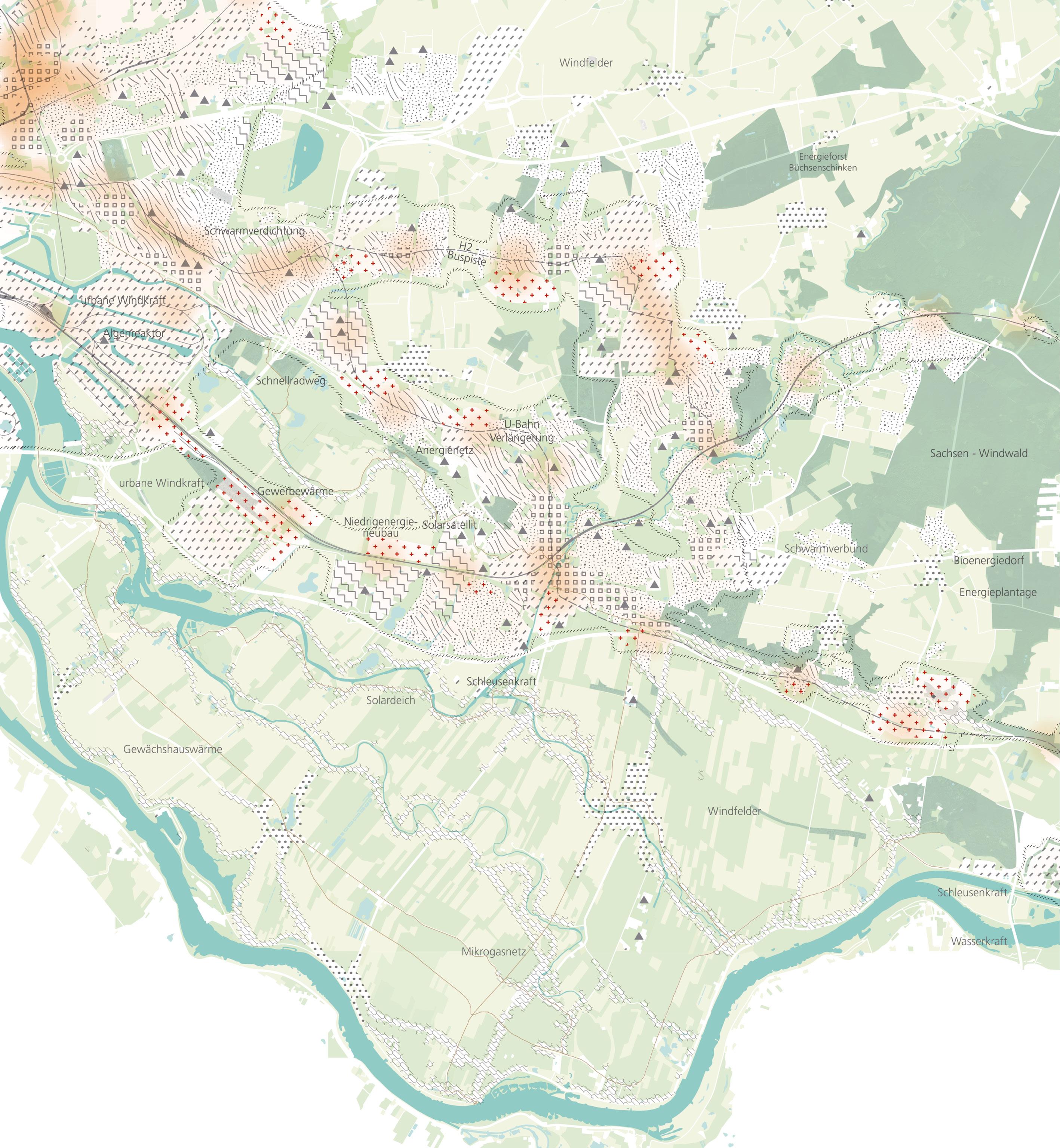 Energieregion Visualisierung