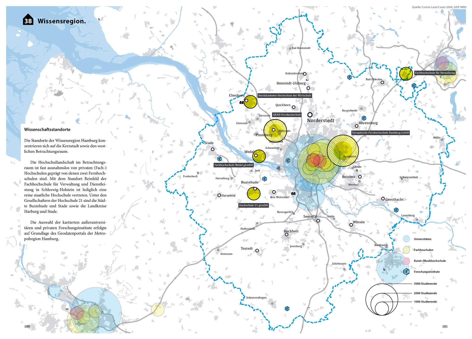 Suburbia Atlas Hamburg Stadteingang Typologien Vorort Karte Wissen Wissenschaft Wissenschaftsstandorte Hochschulen Karte