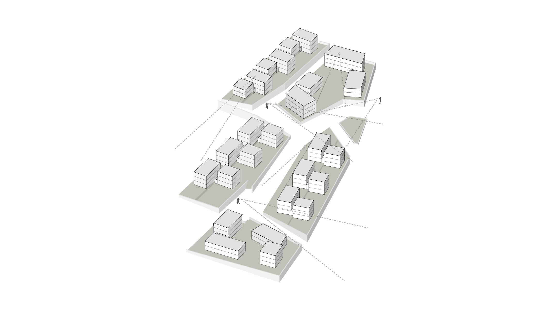 Konstanz Litzelstetten Marienweg Wettbewerb Sichten Blickbeziehungen Staffelung Konzept Grafik