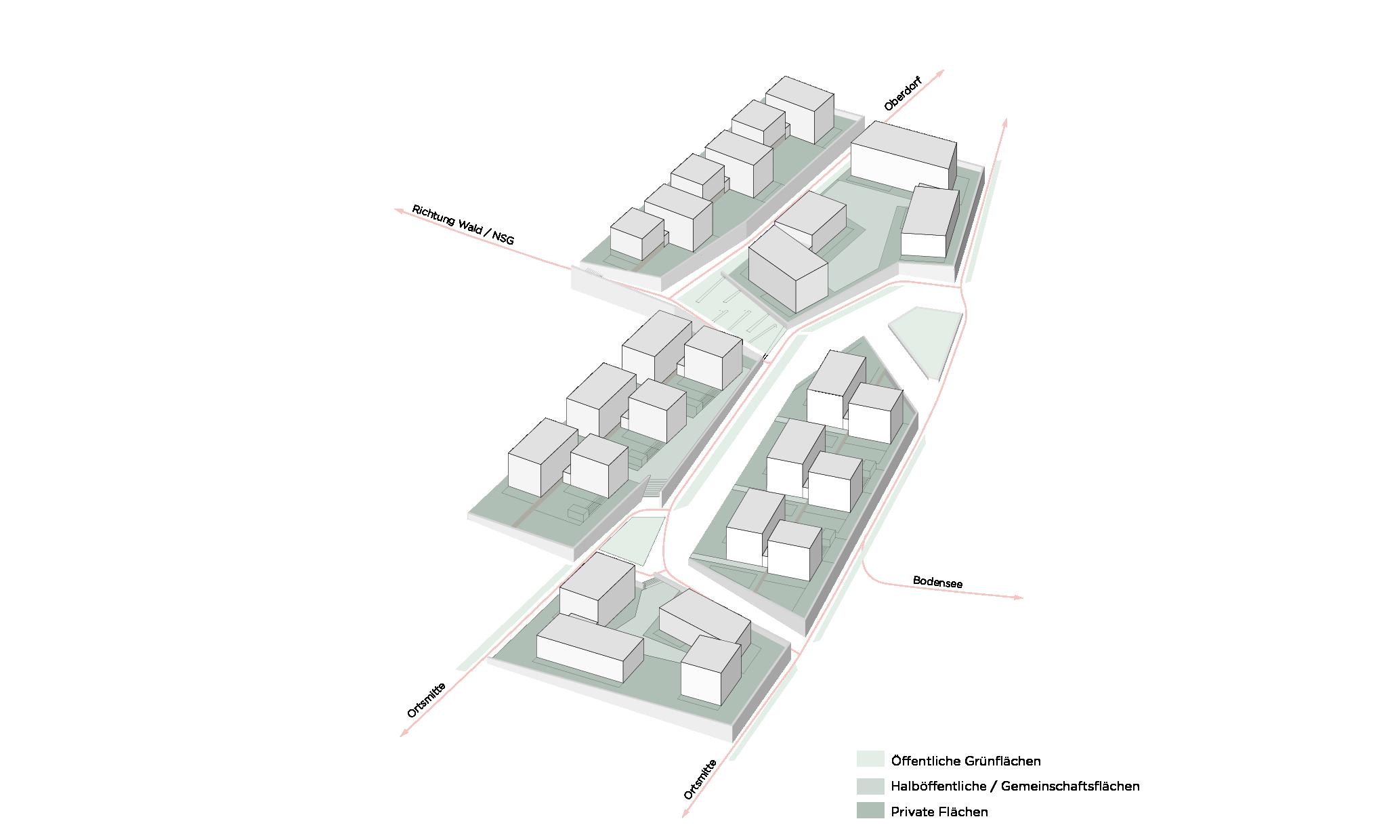 Konstanz Litzelstetten Marienweg Wettbewerb Grünflächen Freiraum Flächennutzung Konzept