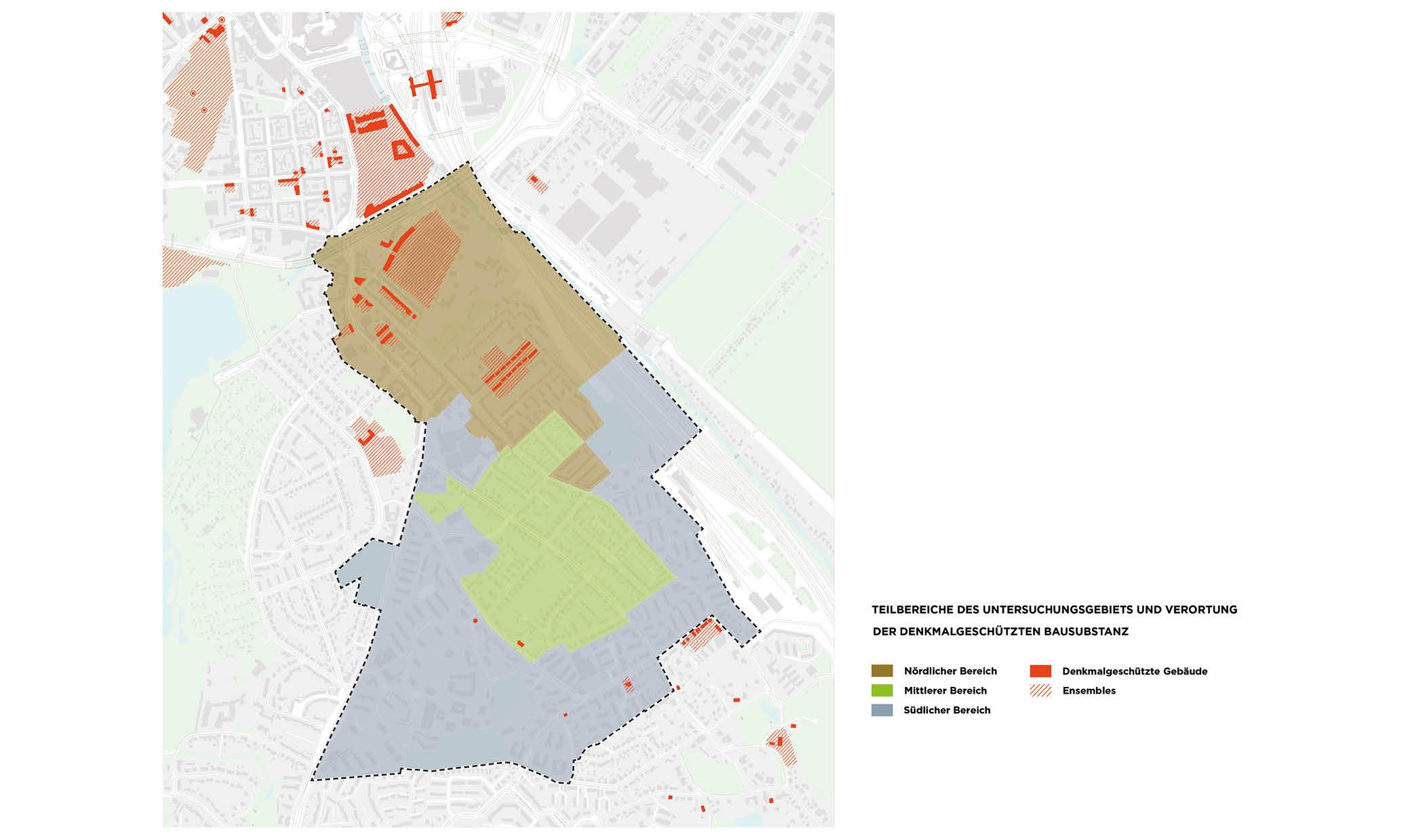 PPA Wilstorf Denkmal Denkmalschutz Ensembles Karte