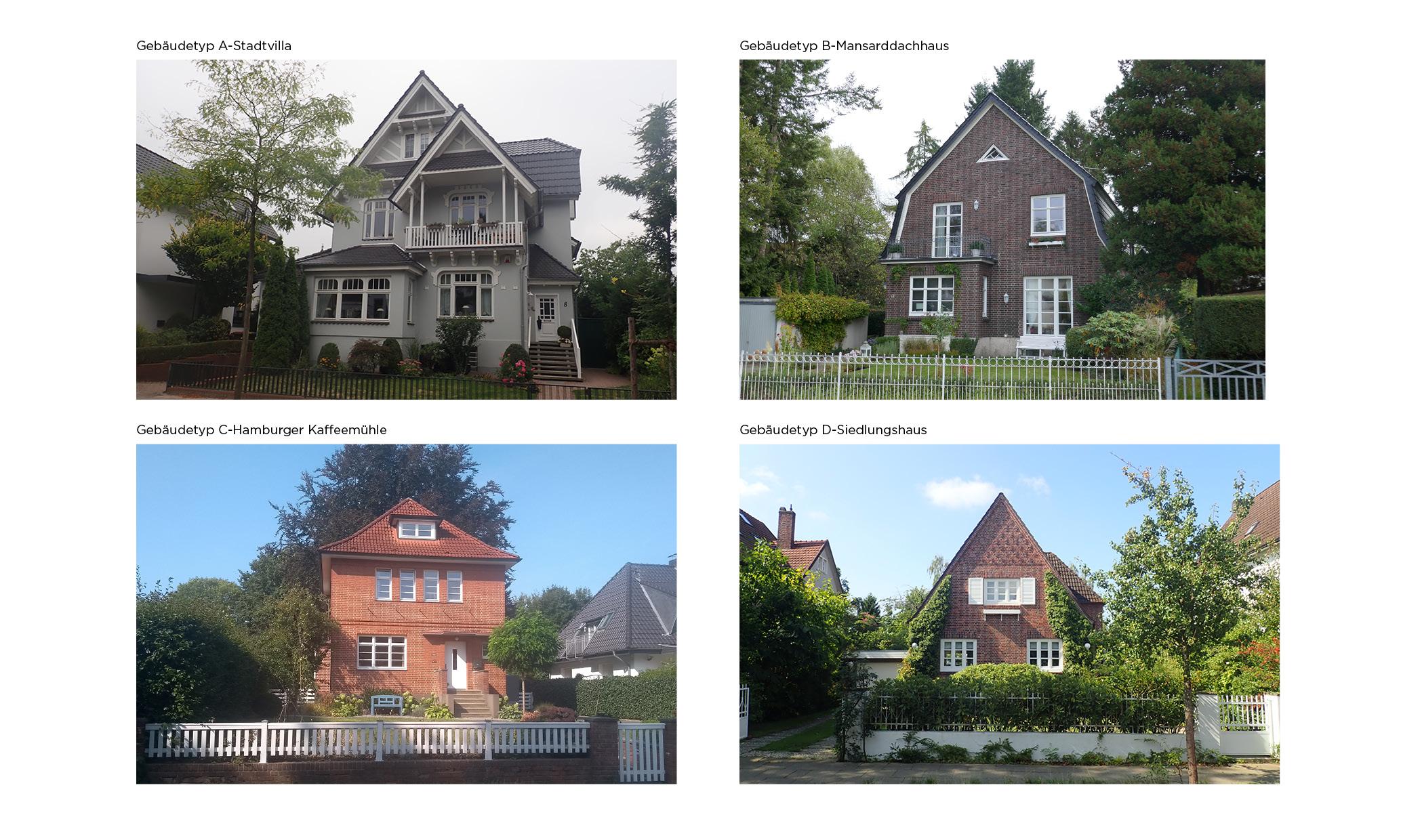 Rahlstedt Gebäudetypologien städtebauliche Gestalt